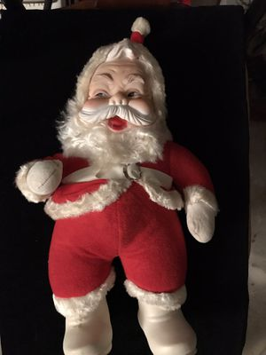 Blowout sale antique rushton santa doll 15in for Sale in Holiday, FL