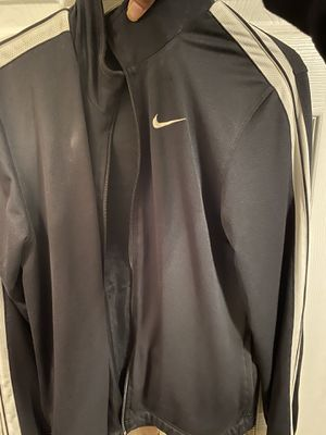 Nike track jacket sz m for Sale in Fayetteville, NC