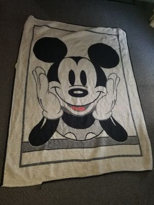 Mickey Mouse Blanket for Sale in Oregon, WI
