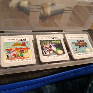 Various 3DS Games - Luigi's Mansion, Monster Hunter, Animal Crossing for Sale in Panama City, FL