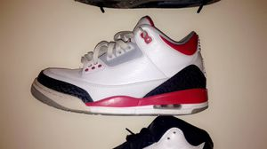 Fire red 3s for Sale in Worcester, MA