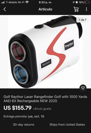 Raythor Golf Sport Pro Láser Rangefinder (Never Used un Excelente conditions) for Sale in Los Angeles, CA