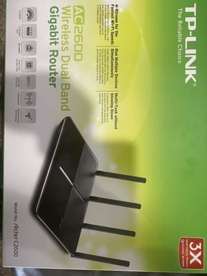 Tp-Link AC2600 Powerful Dual band Router wireless for Sale in Palos Park, IL