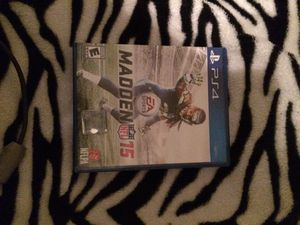 Madden 15 ps4 for Sale in Warner Robins, GA