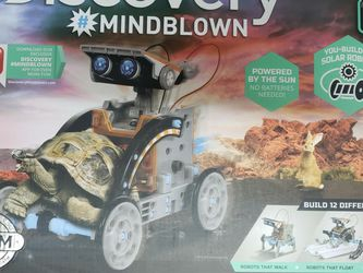Discovery Kids Mindblown STEM 12-in-1 Solar Robot Creation 190-Piece Kit. for Sale in Fort Washington,  MD