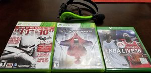 Xbox 360 Games-$10 each game for Sale in Portland, OR