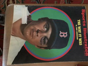 49 Year Old Sports Illustrated Tony Conigliaro Cover for Sale in Abilene, TX