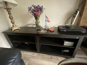 Used TV stand up to 60 inches, has some scratches for Sale in Federal Way, WA