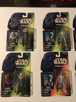 Signed Star Wars Action Figures for Sale in Hamilton, OH