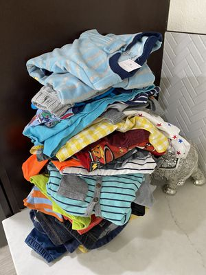 24 months baby boy clothes for Sale in Glendale, AZ