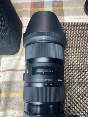 SIGMA 18-35 mm CANON for Sale in Los Angeles, CA