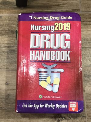 2019 drug handbook nursing for Sale in Silver Spring, MD