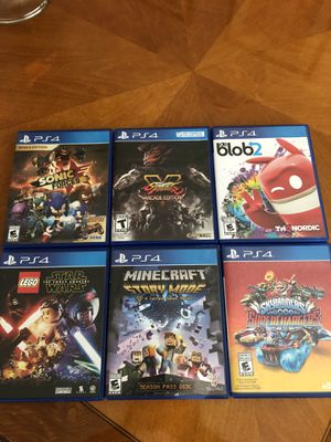 Six PlayStation 4 video games for Sale in Lansdowne, VA