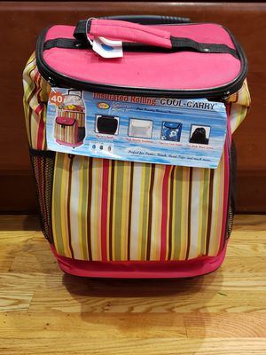 Insulated Rolling Cooler - Picnic / Road Trip for Sale in Cupertino, CA
