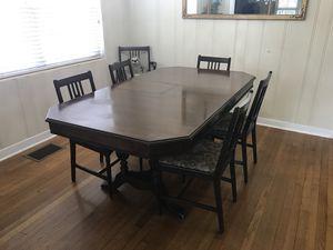 Antique Mahogany Table $350 for Sale in Orlando, FL