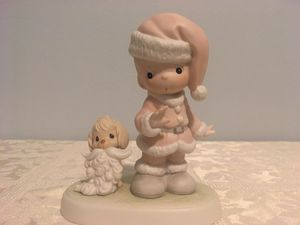 Precious Moments Christmas statue 1992 for Sale in Pennsauken Township, NJ
