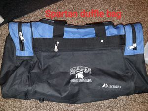 Spartan duffle football bag for Sale in Bakersfield, CA