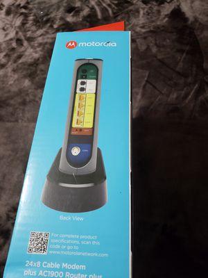 Motorola modem wifi for Sale in Webster, TX