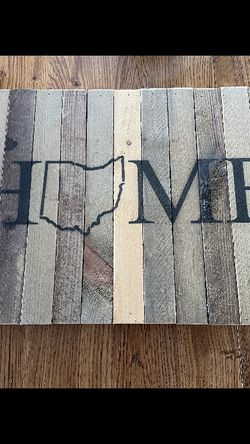 Wooden Home Sign for Sale in Cleveland,  OH