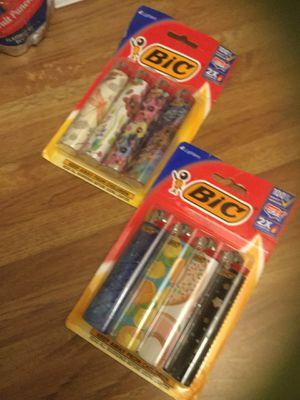 Bic lighters 4 pack for Sale in Lodi, CA