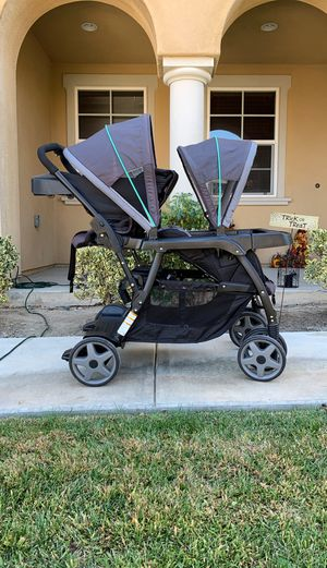Graco double stroller for Sale in Temecula, CA