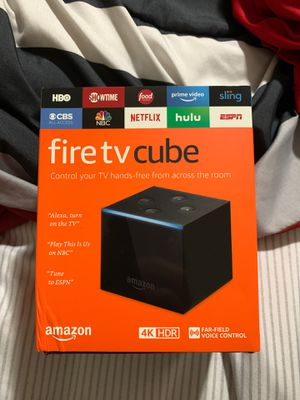 Fire tv cube brand new for Sale in Cleveland, OH