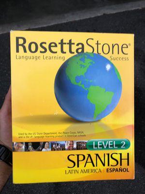 Rosetta Stone Spanish for Sale in Kenmore, WA