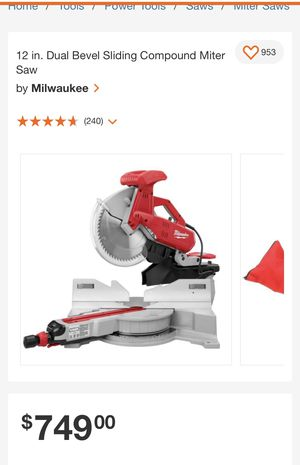 Miter saw for Sale in The Bronx, NY