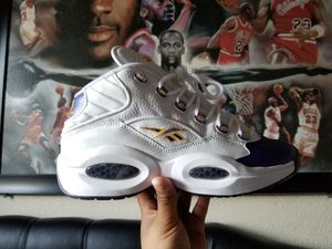 """REEBOK QUESTION MID """"PACKER SHOES FOR PLAYERS USE ONLY KOBE"""" for Sale in Pasadena, CA"""