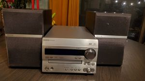 ONKYO DR-UN7 Stereo Receiver Mini System DVD/CD, Radio with Speakers for Sale in West Menlo Park, CA