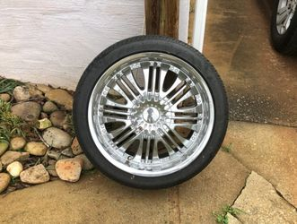 """18"""" Rims With Tires 225/40R18 Great Condition for Sale in Buford,  GA"""