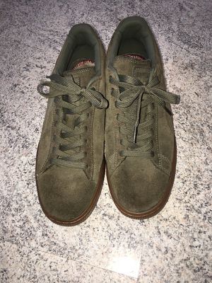 9b937689d0448c Olive Green Pumas - Sz. 9 for Sale in Columbus