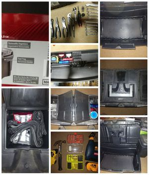 Husky toolbox with various tools for Sale in Burnsville, WV