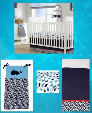 Baby Nautica Crib Bedding Set NEW ‼‼‼👶👶 for Sale in Santa Fe Springs, CA