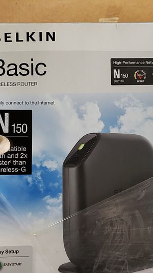 Belkin N150 Router for Sale in Rialto, CA