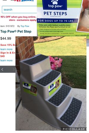 Pet steps in great shape! for Sale in San Antonio, TX