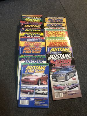 30 Mustang and Ford Misc Magazines for Sale in Worcester, MA