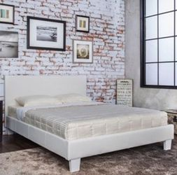 QUEEN BED FRAME AND MATTRESS INCLUDED for Sale in Gardena,  CA