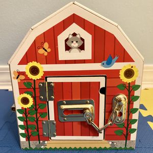 Melissa and Doug Wooden Latches Barn for Sale in Santa Rosa Beach, FL
