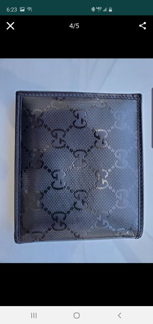 Authentic black Gucci wallet for Sale in Miami, FL
