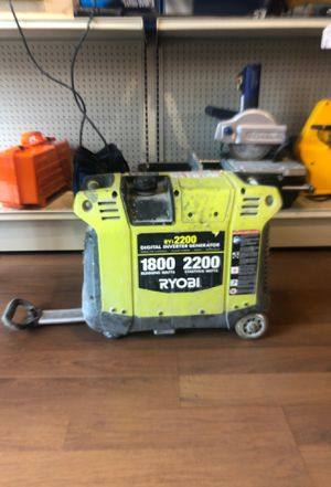 RYI inverter generator for Sale in Wheeling, IL