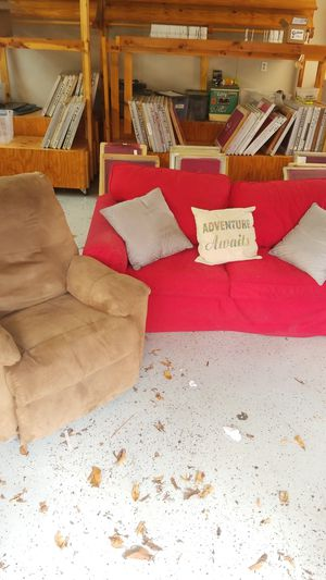 Loveseat and Recliner for Sale in Richmond, VA