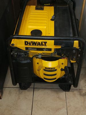 Generator dewalt 6300w for Sale in Hawthorne, CA