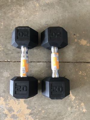 20 LB dumbbells (New) for Sale in Anderson, SC