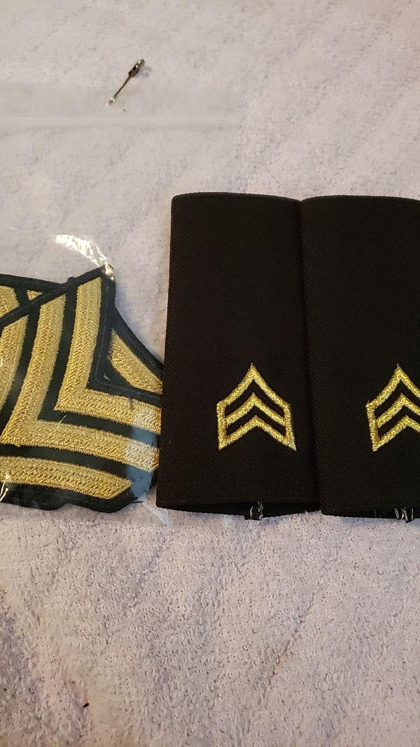 Army ASU E5 rank male