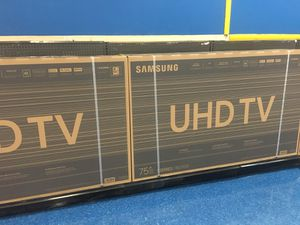 """Samsung 75"""" smart 4k tv for Sale in Anaheim, CA"""