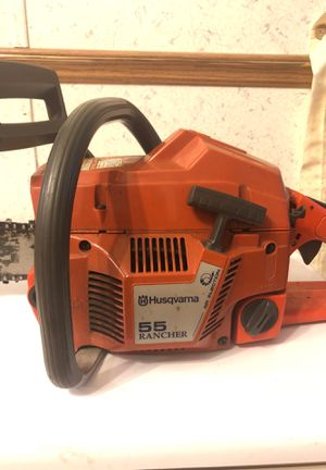 Chainsaw husqvarna 55 rancher for Sale in Windsor, CT