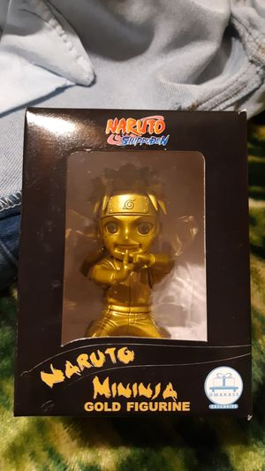 """NEW"" Naruto Uzumaki Shippuden Gold MiNinja for Sale in Fullerton, CA"