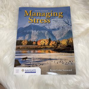 Managing Stress -Access- TENTH EDITION for Sale in Garden Grove, CA