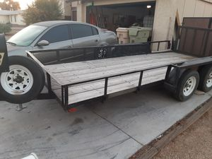 Big Tex trailer 16ft for buggies sand rail quads or car for Sale in Glendale, AZ